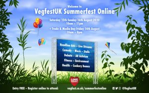 VegFestUK highlights vegan women's voices at online events through our partnership