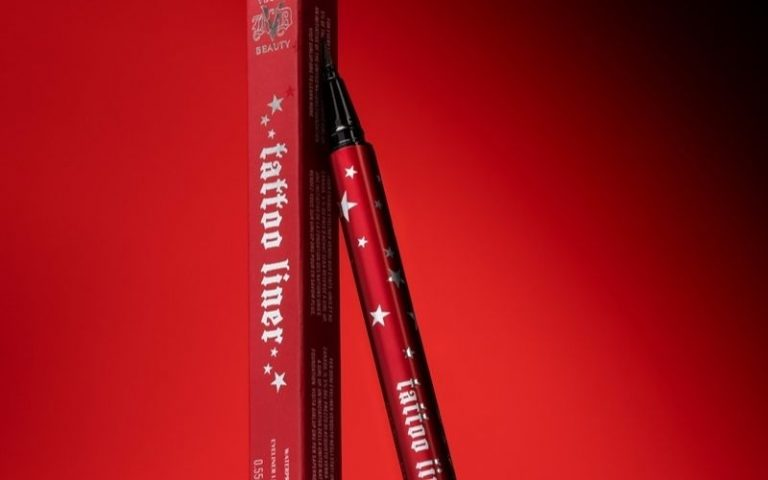 KVD Beauty tattoo lip liner red package